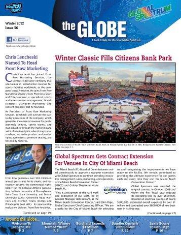 Winter Classic Fills Citizens Bank Park - Global Spectrum