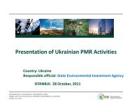 Ukraine: Organizing Framework - Partnership for Market Readiness