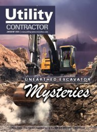View Full August PDF Issue - Utility Contractor Magazine