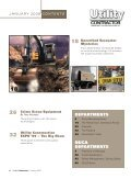 View Full January PDF Issue - Utility Contractor Online - Page 4
