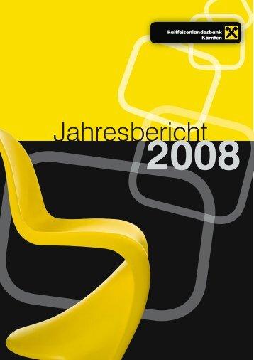 Geschäftsbericht 2008 zum Download - RLB Kärnten