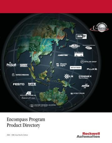 Encompass Program Product Directory - Rockwell Automation - 한국