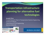 Dr. Joseph Chow, Ryerson Engineering