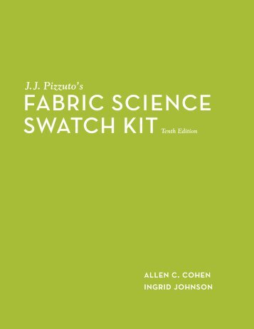 Fabric Science Swatch Kit - Fairchild Books