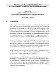 Leitlinien zur Weiterentwicklung der Konzepte zur Förderung ...