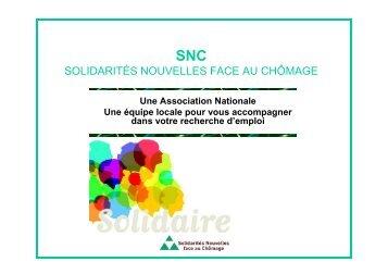 Présentation SNC JT5 - La Celle Saint-Cloud