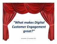 """What makes Digital Customer Engagement great?"" - BearingPoint ..."