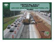 Replacing Asphalt With Concrete Under Traffic