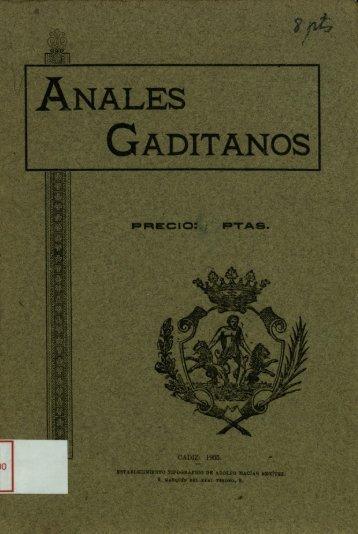 CADIZ: 1905. - DSpace CEU