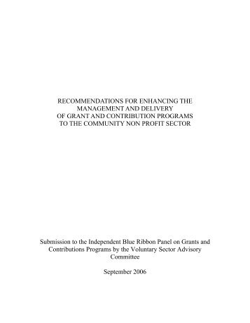 VSAC BRP Submission.pdf - The Canadian CED Network