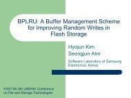 BPLRU: A Buffer Management Scheme for Improving Random ...
