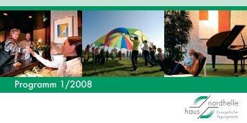 Programm 1/2008 - Haus Nordhelle