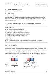 2. HALBLEITERDIODEN - microLab - Berner Fachhochschule