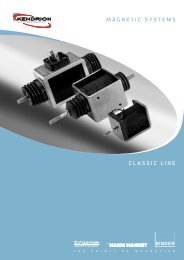 Magnetic SySteMS cLaSSic Line - Kendrion
