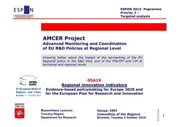 AMCER Project