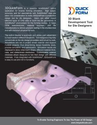 3D Blank Development Tool for Die Designers - 3D CAD/CAM ...
