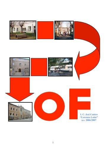 POF 2006 - Istituto Scolastico Comprensivo Lorenzo Lotto, Jesi