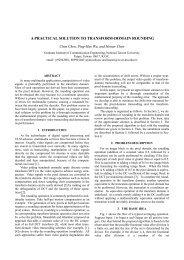 a practical solution to transform-domain rounding - eurasip