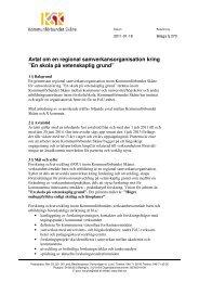110118 Arbetsutskottet, bilaga § 270.pdf - Kommunförbundet Skåne