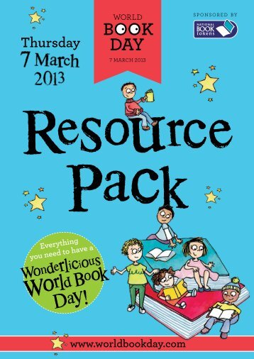 Information for Schools - World Book Day