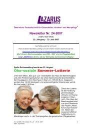 Lazarus Nr. 24 - Nurse-Communication