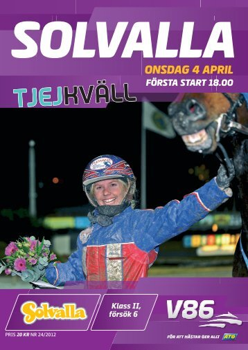 onsdag 4 april - Solvalla