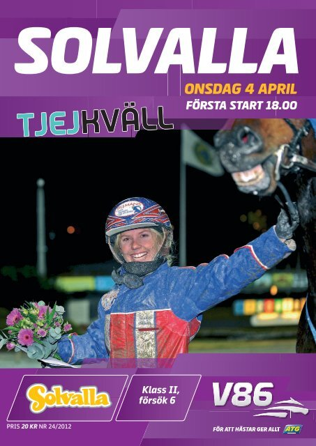 onsdag 4 april - Solvalla