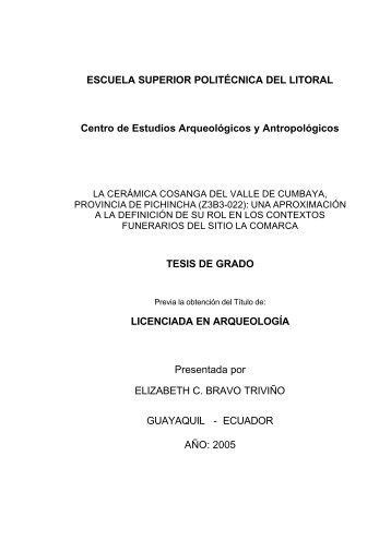 A INTRODUCCION - Arqueología Ecuatoriana