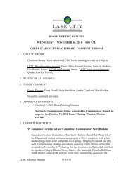 LCDC Meeting Minutes 11/16/11 1 BOARD MEETING MINUTES ...