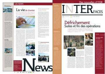 Interfaces n° 9 - iter france