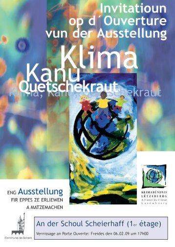 An der Schoul Scheierhaff (1er étage) - Klima-Bündnis Lëtzebuerg