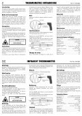 INFRARED THERMOMETER INFRAROOD THERMOMETER - Page 2
