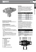 Technical Manual Backflow preventer CAb - Watts waterbeveiliging - Page 5