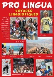 Téléchargez notre brochure (Fichier PDF - 7,10 Mo - Prolingua