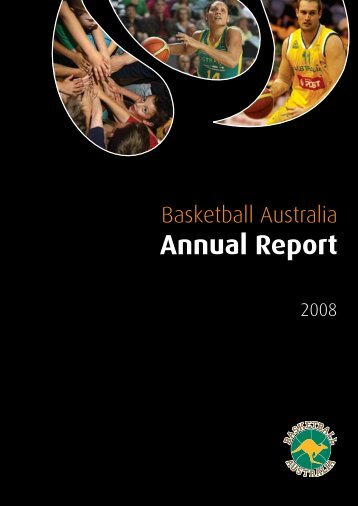 BasketBall australia annual report 2008