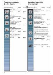 Reguladores empotrables de boton giratorio ... - Jungiberica.net