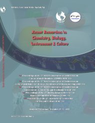 Recent Researches in Chemistry, Biology, Environment ... - Wseas.us