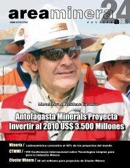 Antofagasta Minerals Proyecta Invertir al 2010 US ... - Areaminera