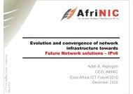 IPv6 - EuroAfrica-ICT