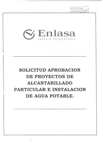 solicitud aprobacion de proyectos de alcantarillado particular e ...