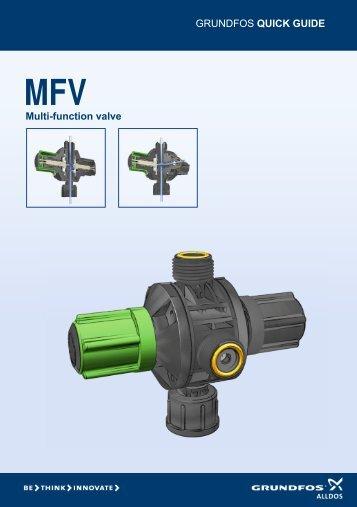 Multi-function valve kit install for Omnium