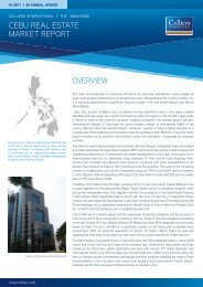 Cebu Knowledge Report - 1H 2011 - Colliers International