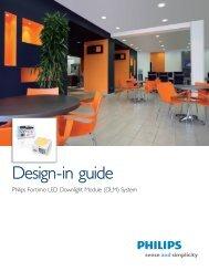 Design-in guide - Philips Lighting