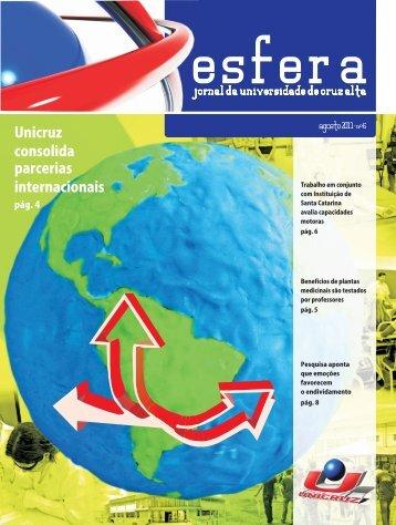 ESFERA 2011_EDICAO 6 - Unicruz