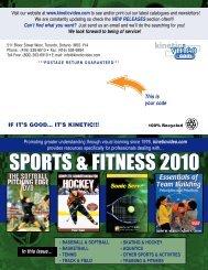 **kinetic sports newsletter 3 2010 FINAL - Kinetic Video