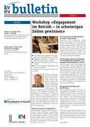 Bulletin 3-2011 (PDF, 2557 kb) - KV Schweiz