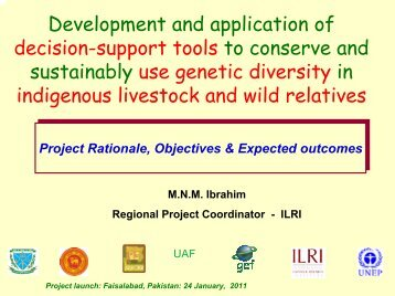 Development and application of decision-support tools to conserve ...