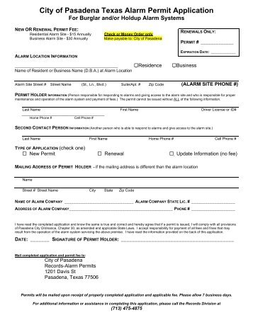 City Of San Antonio Building Permit Application