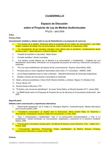 download PDF (705.4 kibibytes) - Indymedia Argentina