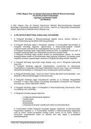 A MOL Magyar Olaj- és Gázipari Nyilvánosan Működő ...